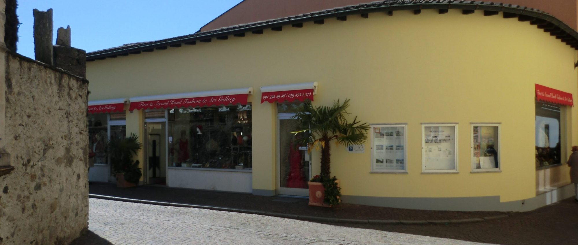FIRST & SECOND FASHION & ART GALLERY, ASCONA